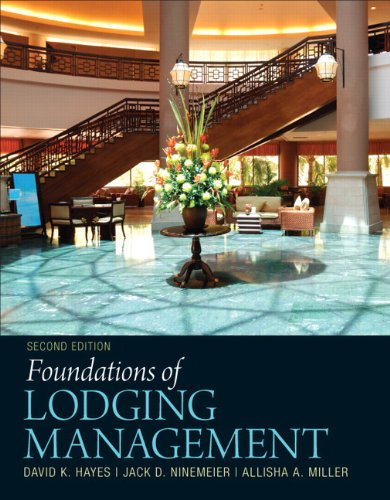 9780132560894: Foundations of Lodging Management (2nd Edition)