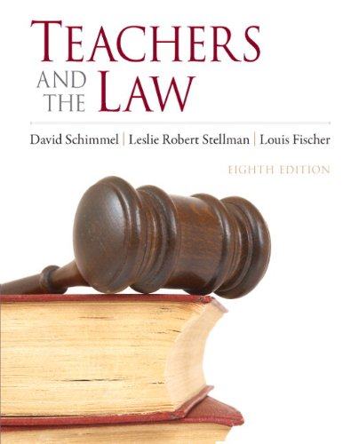 9780132564236: Teachers and the Law