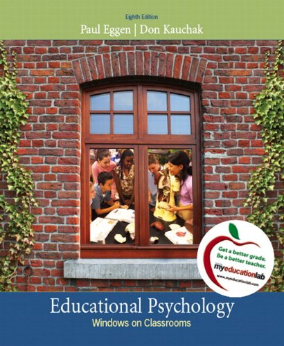 9780132565776: Educational Psychology: Windows on Classrooms, Student Value Edition (8th Edition)