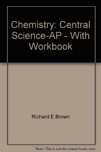 9780132566322: Chemistry: Central Science-AP - With Workbook
