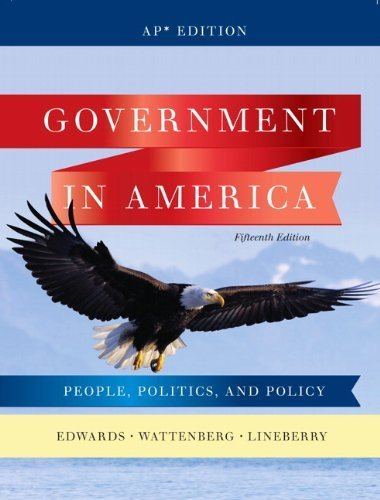 9780132566933: Government in America: People, Politics, and Policy (Ap Edition)