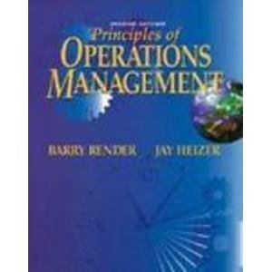 9780132567367: Principles of Operations Management (Prentice Hall Series in Decision Sciences)