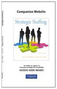 Student Access Code Card for Strategic Staffing Format: Access Code Card: Phillips, Jean M