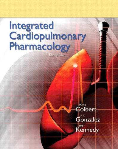 9780132568722: Integrated Cardiopulmonary Pharmacology