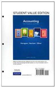9780132569200: Accounting, Chapters 1-15 (Financial chapters), Student Value Edition (9th Edition)