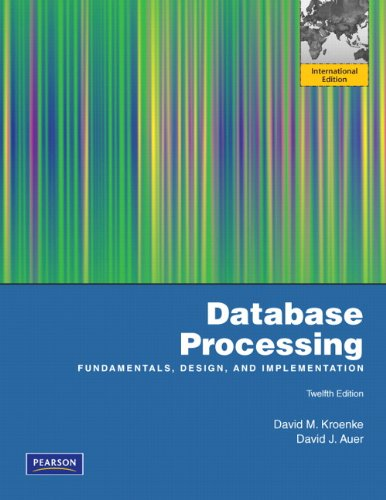9780132570114: Database Processing: International Edition