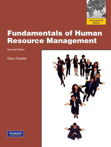 gary dessler fundamentals human resource management abebooksfundamentals of human resource management international edition dessler, gary