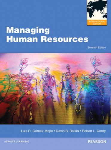 9780132570145: Managing Human Resources: International Edition