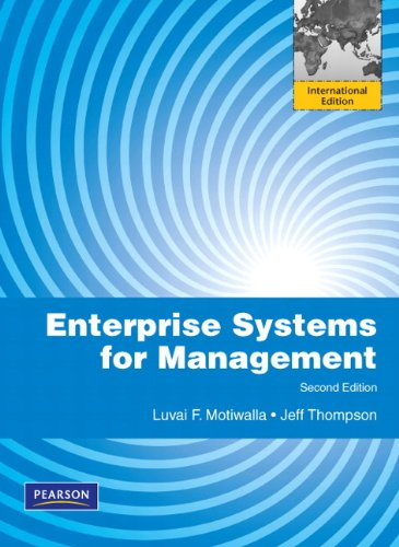 9780132570169: Enterprise Systems for Management: International Edition