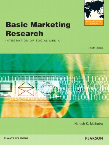 9780132570183: Basic Marketing Research: International Edition