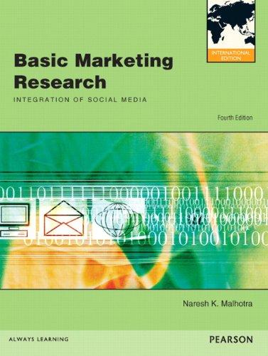 9780132570183: Basic Marketing Research: International Edition