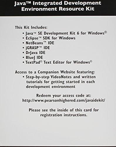 9780132570817: Java Integrated Development Environment Resource Kit
