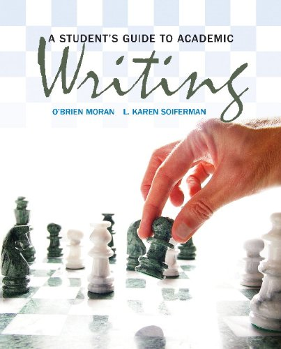 9780132572040: A Student's Guide to Academic Writing