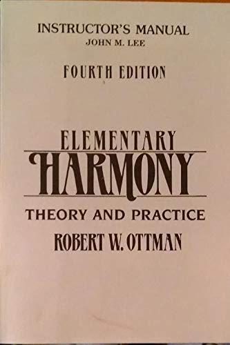 Sm Elementary Harmony I/M: Ottman