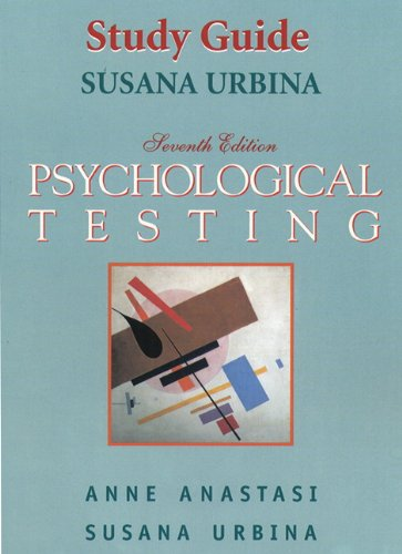 9780132573214: Psychological Testing [Study Guide]