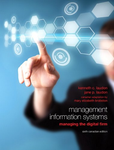 9780132574792: Management Information Systems: Managing the Digital Firm, Sixth Canadian Edition (6th Edition)