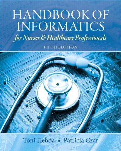 Handbook of Informatics for Nurses and Healthcare: Hebda BSN M.N.Ed.