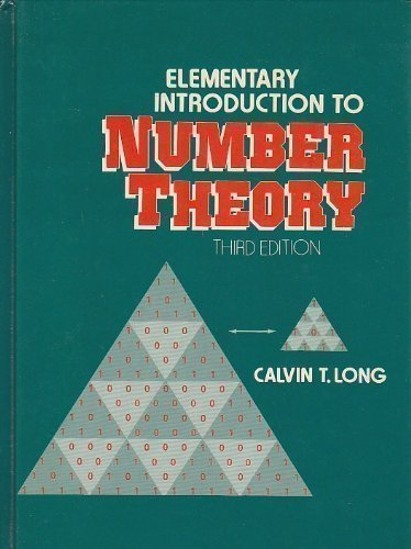 9780132575027: Elementary Introduction to Number Theory