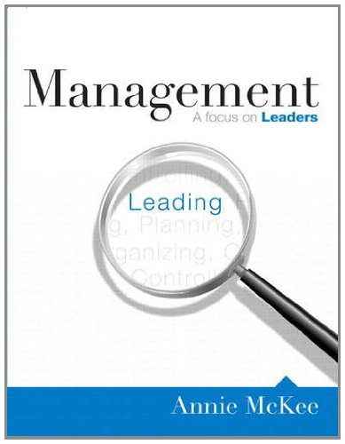 9780132575904: Management: A Focus on Leaders
