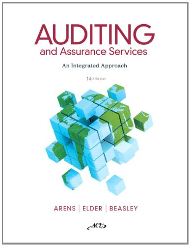 9780132575959: Auditing and Assurance Services (14th Edition)