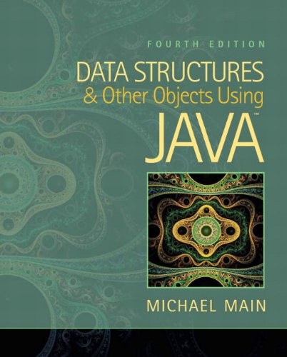 9780132576246: Data Structures and Other Objects Using Java (4th Edition)