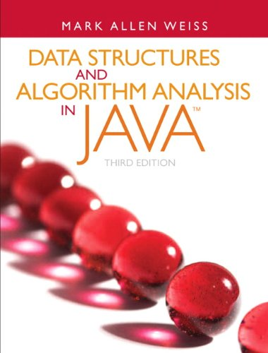 9780132576277: Data Structures and Algorithm Analysis in Java