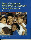 9780132576284: Early Childhood Program Management: People and Procedures