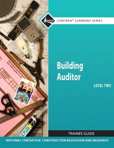 9780132576758: Building Auditor Level 2 Trainee Guide (Nccer Contren Learning Series)