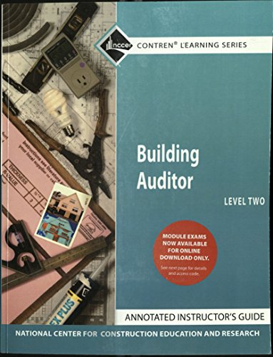 Building Auditor Level Two (NCCER Contren Learning Series): Pearson