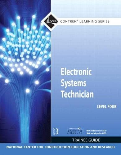 9780132578219: Electronic Systems Technician Level 4 Trainee Guide, Paperback (3rd Edition)