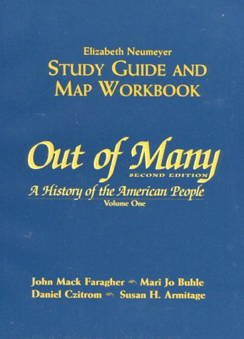 9780132578585: Out of Many: A History of the American People : Study Guide and Map Workbook
