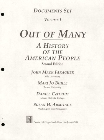 9780132578660: Out of Many: A History of the American People : Documents Set