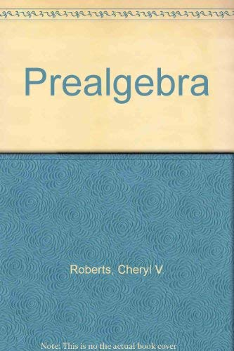 9780132582292: Prealgebra