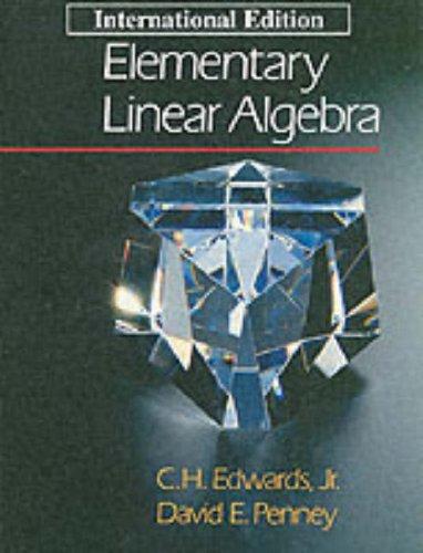 9780132582452: Elementary Linear Algebra