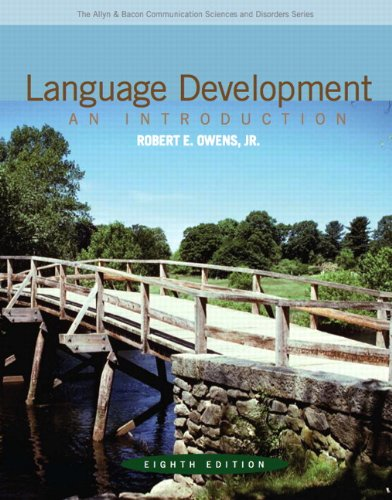 9780132582520: Language Development: An Introduction (8th Edition) (Allyn & Bacon Communication Sciences and Disorders)
