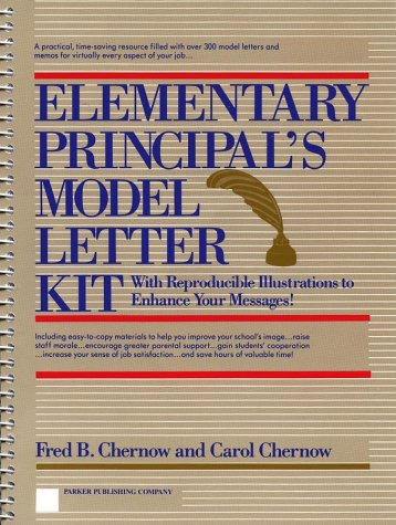 9780132594417: Elementary Principal's Model Letter Kit: With Reproducible Illustrations to Enhance Your Messages