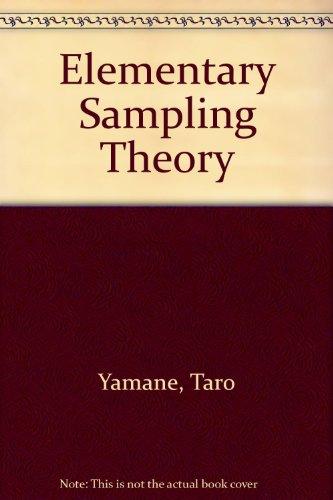 Elementary Sampling Theory: Taro Yamane