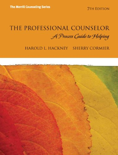 9780132595148: The Professional Counselor: A Process Guide to Helping