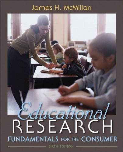 9780132596473: Educational Research: Fundamentals for the Consumer (6th Edition)