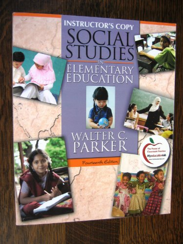 9780132597951: Social Studies in Elementary Education 14th edition (Instructor's Copy)