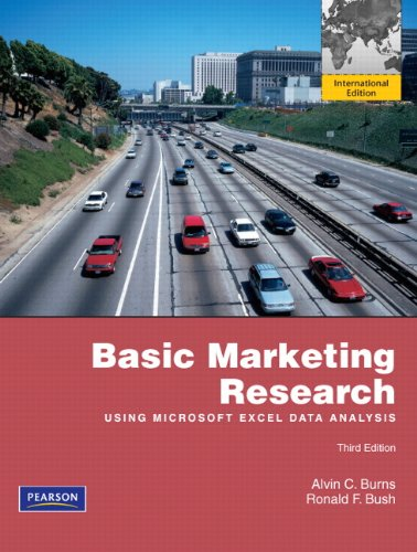 9780132598965: Basic Marketing Research with Excel: International Edition