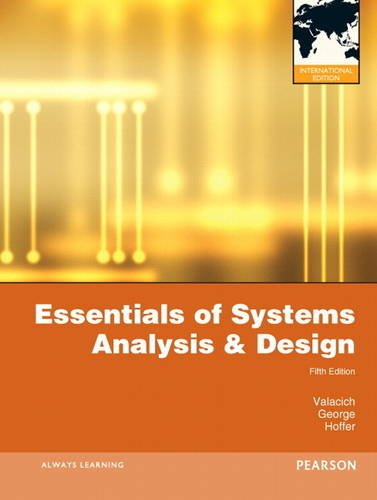 9780132599016: Essentials of Systems Analysis and Design: International Version