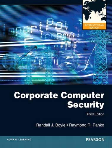 9780132599023: Corporate Computer Security