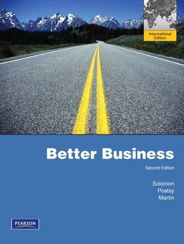 9780132599054: Better Business