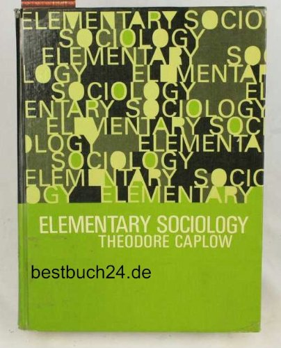 9780132600347: Elementary Sociology
