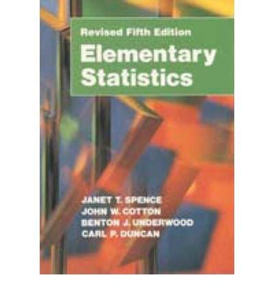 9780132600439: Elementary Statistics
