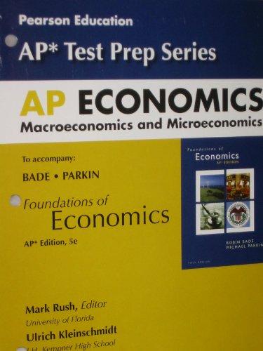 9780132603591: AP Economics: Macroeconomics and Microeconomics (AP* Test Prep Series)