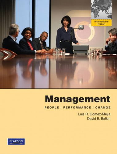 9780132604338: Management: International Edition