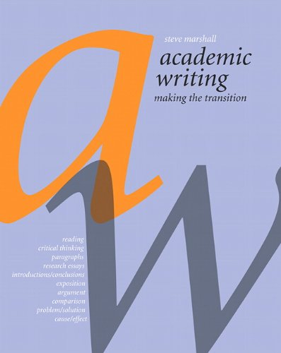 9780132604536: Academic Writing: Making the Transition with MyCanadianCompLab