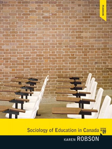 Sociology of Education in Canada: Robson, Karen